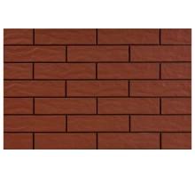 Фасадная плитка Cerrad Burgund 24,5x6,5 рустикальная