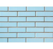 Глазурованный голубой кирпич СБК керамический