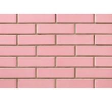 Глазурованный розовый кирпич СБК керамический
