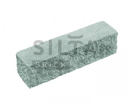 Кирпич серый декоративный узкий угловой Силта Брик