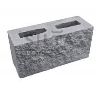 Серый заборный блок декоративный Силта-Брик